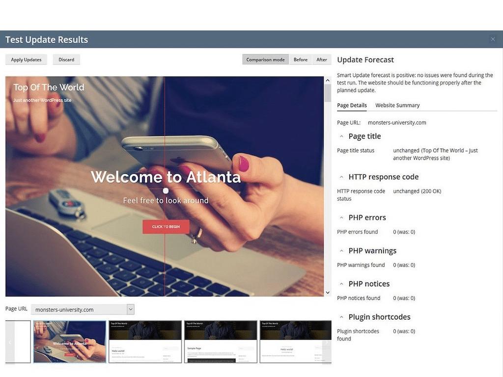 Plesk WordPress Smart Updates Licensing