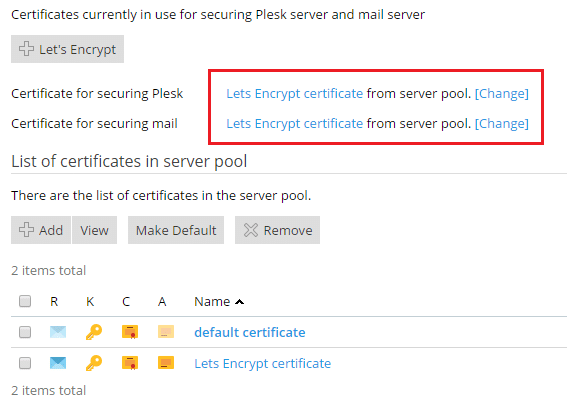 Secure Your Plesk Server - SSL for your Mail Server