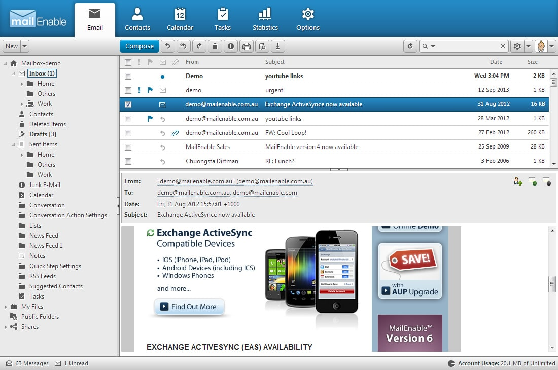 Mailenable Best Alternative Windows Mail Server