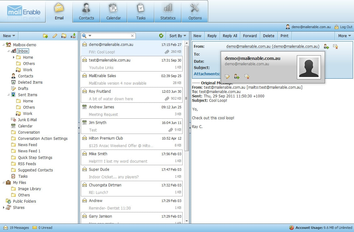 Mailenable WebMail License